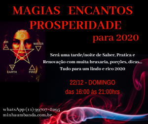 Magias, Encantos e Prosperidadelo